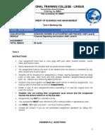 Financial Reporting  Task 4 memo