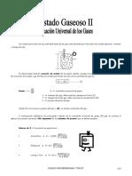 IV Bim - 4to. Año - Guía 2 - Estado Gaseoso - Ecuac. Univers
