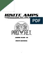 ProF.E.T. v1.0.0 User Manual