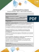 Fase 3 - Sobre la labor etnográfica - ARISTIDES ROJAS
