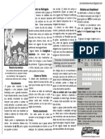 """Asas da morte- Releitura One Page de """"A lenda do Príncipe Demônio! - Old Dragon"""