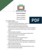 Cuestionario I contabilidad III.