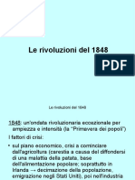 Le rivoluzioni del 1848