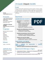 CV Miguel Delgado G