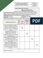 Rúbrica - Primero - 3,4,5,6 - PCA