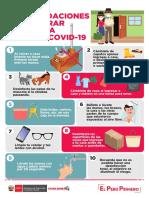 3. Recomendaciones para entrar en tu casa frente al COVID -19