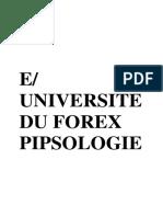 université du forex pipsologie