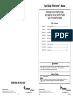 Pentair-Sand-Dollar-Owners-Manual