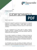 COMUNICADO INMOBILIARIAS ABRIL 15