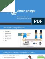 Victron Energy - Présentation Formation - 3. Protections et câblages