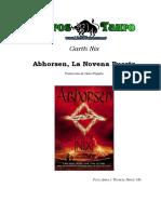 Nix, Garth - Abhorsen 3 - Abhorsen La Novena Puerta