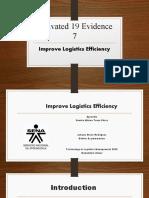 Presentación 2 Improve Logistics Efficiency