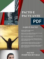 1. Pacto e Pactuante