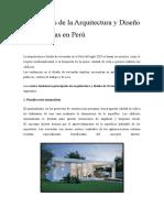 tendencias de la Arquitectura y Diseño de viviendas en Perú