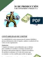 RESUMEN DE CONTENIDO  UNIDAD 1 Y 2