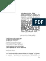Recomendación CNDH caso tortura en Ocotlán