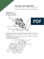 Instalacion Bomba Delphi DP210