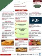 Cursos Gastronomía