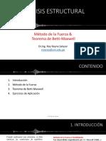 07. Método de la Fuerza y Teorema de Betti-Maxwell.pdf