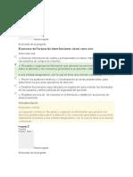 Evaluaciones Dp Facturación Salud
