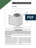 Heat Pump Manual
