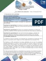 Guía de actividades y rúbrica de evaluación – Tarea  6 Evaluación Final.pdf