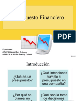 Presupuesto financiero ppt