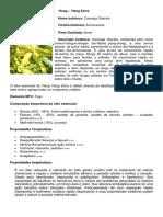 Estudo do Ylang-Ylang