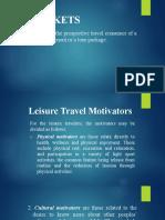 Markets and Destination