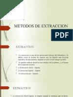 METODOS DE EXTRACCION