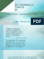 EVOLUCION Y DESARROLLO DE LA HISTORIA DE ENFERMERIA
