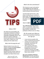 TIPS - Quick Info Reference