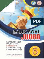BANK SOAL KELAS 5