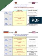Calendario de Visitas Guiadas y Eventos de Agosto de 2008 en Córdoba Ciudad- (Arg.)-
