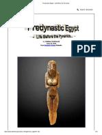 Predynastic Egypt - Life Before the Pyramids.._