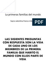 La primeras familias del mundo VALENTINA.pptx