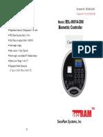 Securam BSL-0601A-D66 User's Manual