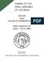 GA Legislature 2009 Picture Book