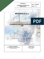 Standard Lighting Poles up to 12m