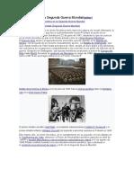 Participacion en la segundad guerra mundial de la union sovietica