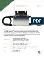 Enphase M210 Datasheet