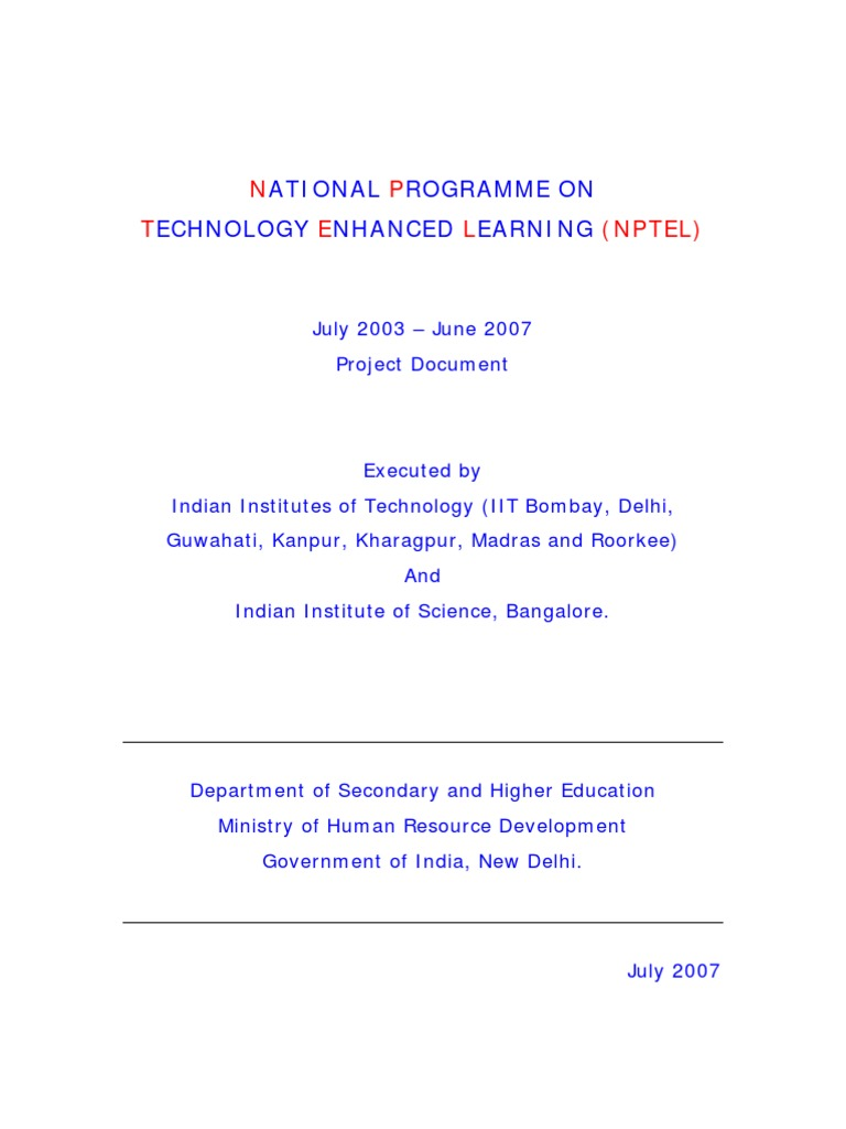 Nptel Docket Educational Technology Adobe Systems Electronic Circuit Design