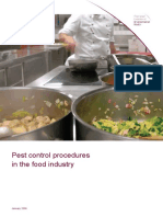 Pest Control in the Food Premises - UK Chartered Institute of Environment Health.docx