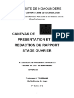 canevas stage ouvrier