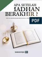 ADA APA SETELAH RAMADHAN BERAKHIR
