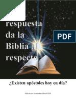 ¿Existen Apostoles Hoy en Dia?