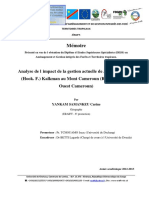 Memoire_Impact de la gestion de Prunus_ YANKAM Carine_2013_ERAIFT