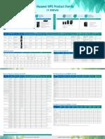 HUAWEI UPS Distribution Product Family Datasheet.pdf