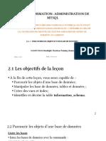 Jour 2 Admin MySQL 25-06-2020