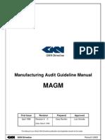 Process Audit Check List